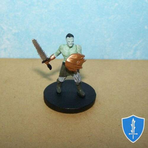 Elemental Evil #13 D/&D Miniature Water Cult Warrior