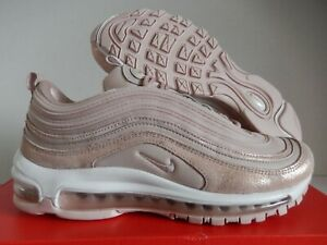 Wmns Nike Air Max 97 Se Particle Beige Pink Red Bronze Sz 8