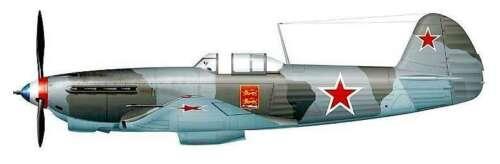 Yak-9T anti-tank Soviet WWII fighter plastic kit 1//48 Modelsvit 4807
