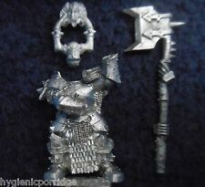 2008 Chaos Warrior Chosen 4 Citadel Warhammer Army Evil Hordes Fighter Champion