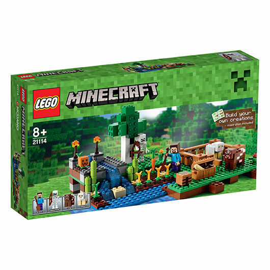 LEGO® Minecraft® 21114 Die Farm NEU & OVP Steve, Skelett