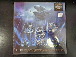 Rush-Clockwork-Angels-Tour-5LP-box-set-sealed-180-Gram-vinyl-new