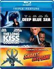 Deep Blue Sea Long Kiss Goodnight SNA 0883929250905 Blu Ray Region a