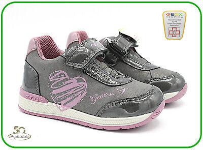 Geox scarpe da bambina primi passi per bimba scarpa bambini chiusura a strappo | eBay