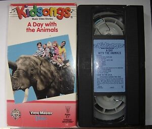 KidSongs-VHS-A-Day-With-The-Animals-Kids-Sing-Along-Songs-1986-Do-Your