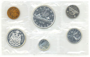 Canada-1962-Proof-Like-Uncirculated-Set-1-1-OZ-Pure-Silver
