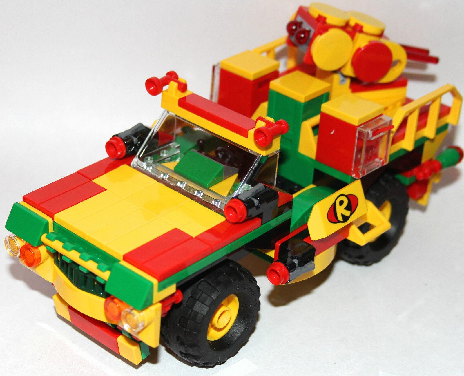Lego original parts - ROBIN'S CANNON CAR - my design - GOTHAM CITY