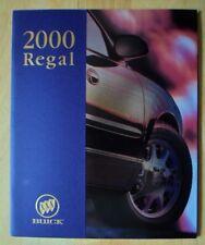 BUICK Regal orig 2000 USA Market prestige 40p brochure