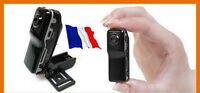 Mini Camera Espion Dv Sport Couleur Noir Micro Sd 8 Go