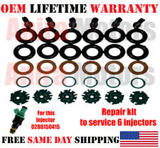 For 2003-2004 Volvo XC70 Fuel Injector Seal Kit AC Delco 67174ZX 2.5L 5 Cyl