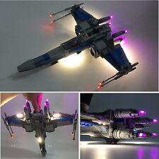 LED Light Kit for Lego 75102 /75149 Lepin 05029/05004 Star Wars X Wing Fighter