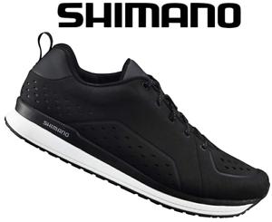 shimano mens ct500 casual cycling shoe  black size eur 40