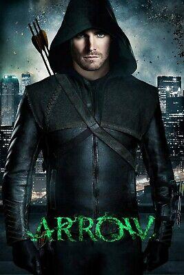"Arrow Green Arrow 8x12/"" Stretched Canvas Art Print Quality"