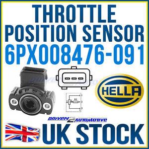 HELLA THROTTLE PEDAL / POSITION SENSOR VW / AUDI 044 907 ...