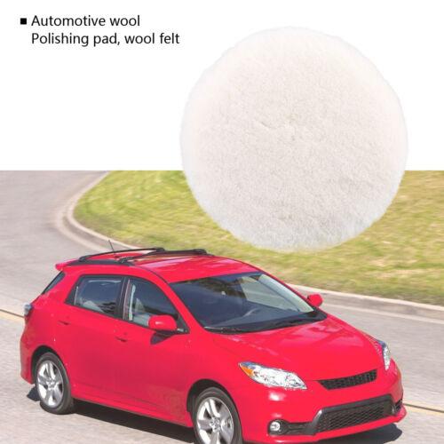 """3/"""" 4/"""" 5/"""" 6/"""" 7/"""" Wool Polishing Buffing Waxing Pad For Car Clean Polisher Buffer"""
