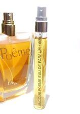 Lancome Poeme Eau de Parfum 10ml Glass Sample Travel Purse EDP 0.33 oz