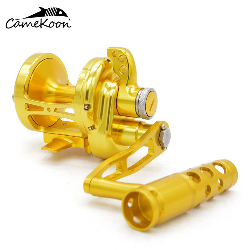 CAMEKOON Lever Drag Conventional Jigging Reel Saltwater Trolling gree gioco gioco gioco Reel c7b