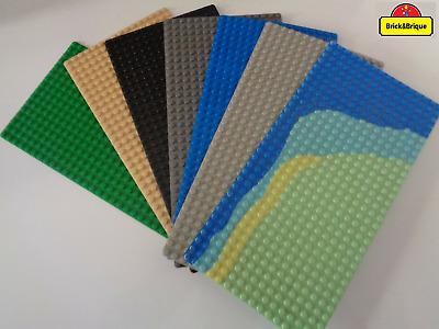 1 X Nouveau LEGO Plaque 6x16 + ENVOI GRATUIT partie 3027 + choix Couleur