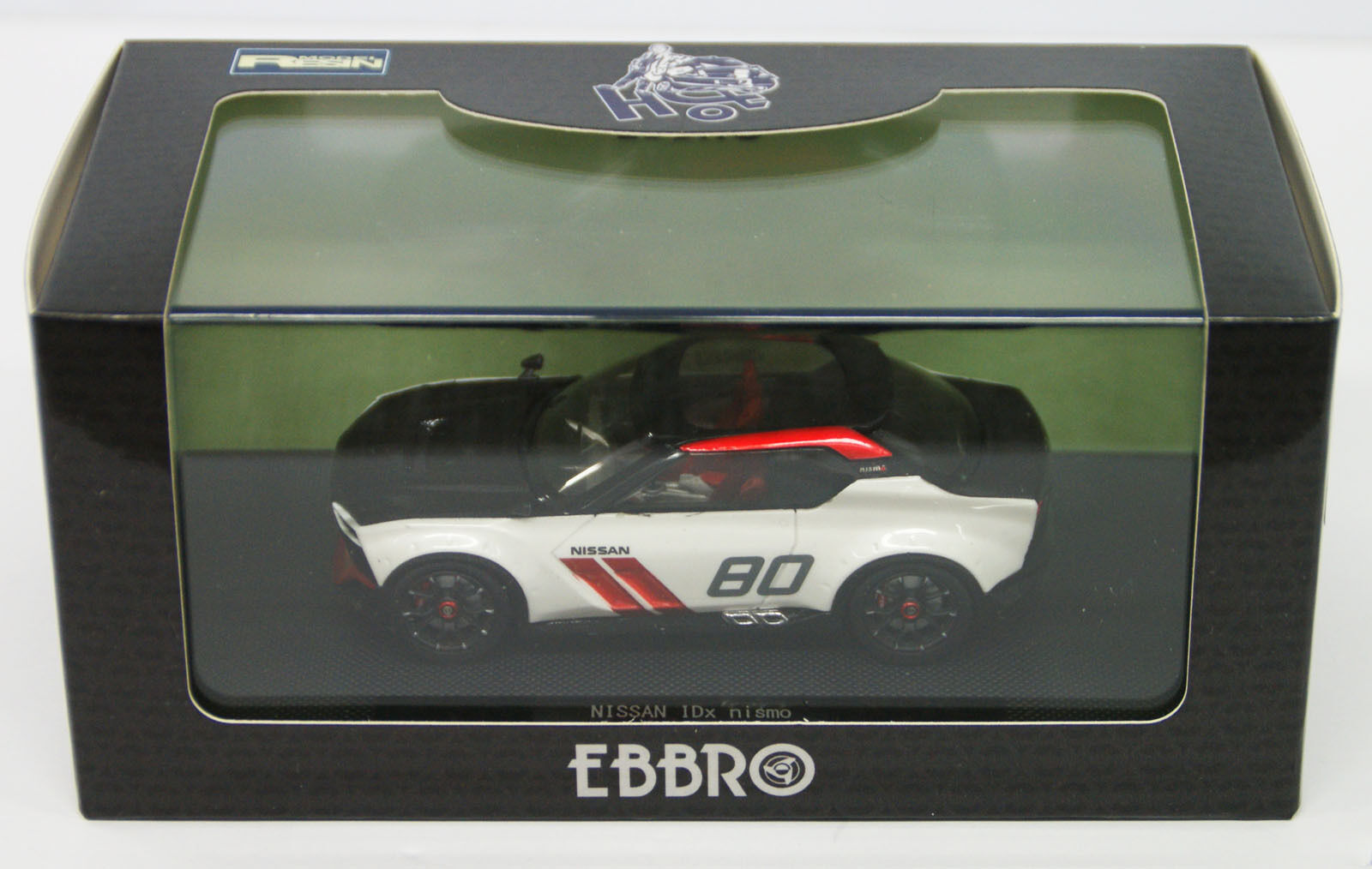 EBBRO 45038 Nissan IDX Nismo Noir Blanc échelle 1 43
