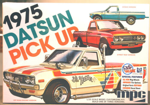 1975 Datsun Pickup 3´n1 1:25 MPC 872 wieder neu 2018