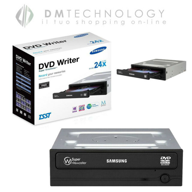 MASTERIZZATORE INTERNO SAMSUNG NERO LETTORE CD DVD DVD-DL DVRW