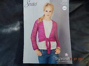 c0ac6c94e STYLECRAFT KNITTING PATTERN LADIES CARDIGAN WITH TIE 3250034 BUST -  Wisbech