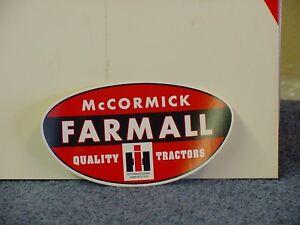 INTERNATIONAL HARVESTER - McCORMICK FARMALL STICKER