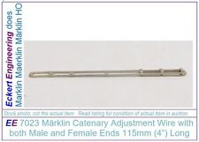 """EE 7023 EXC Marklin HO Catenary 4"""" Wire Male and Female Ends 7023EXC Excellent"""