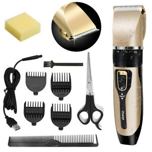 Professional-Hair-Clippers-Men-cordless-hair-trimmers-washable-Beard-Trimmer