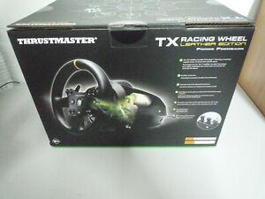 Thrustmaster TX Racing Wheel Leather Edition XBOX ONE Lenkrad Pedalset NEU + OVP
