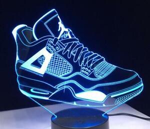 Nike Air Jordan Sneaker Lamp LED Table