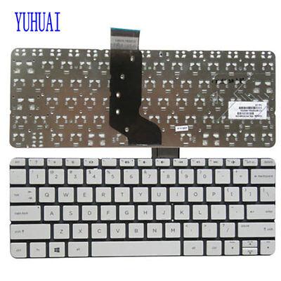 HP Stream 11-D 11-D010NR 11-D020NR 11-D060SA US White Laptop Keyboard