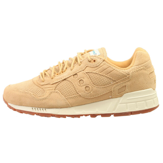 cheaper 71a38 98f02 Saucony Shadow 5000 Mens S703012 Wheat Leather Mesh Running Shoes Size 7