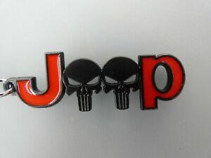 Fanartikel Schlüsselanhänger Auto  passend für Jeep Punisher Renegate Compass