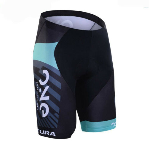 XSU084 Road Men Team Bicycle Cycling Polyester GEL Padded Shorts
