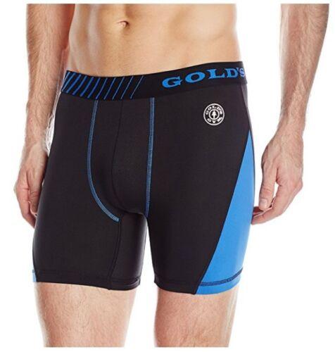 Gold/'s Gym Men/'s Performance Boxer Brief AUTHENTIC S-M-L