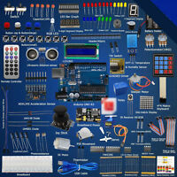 HOT!! Ultimate Starter learning Kit for Arduino UNO R3 LCD1602 Servo Processing*