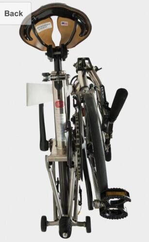 Wall Mounted Rack for Foldable Brompton Bike Bicycle 40x20x10cm F