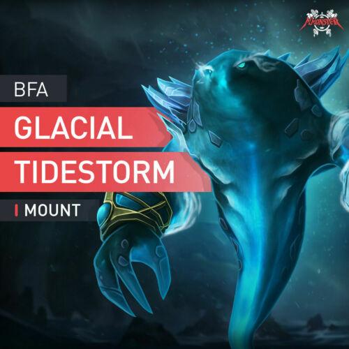 BFA Glacial Tidestorm Mount Boosting Service BoD Hero Of Dazar/'alor Dazaralor