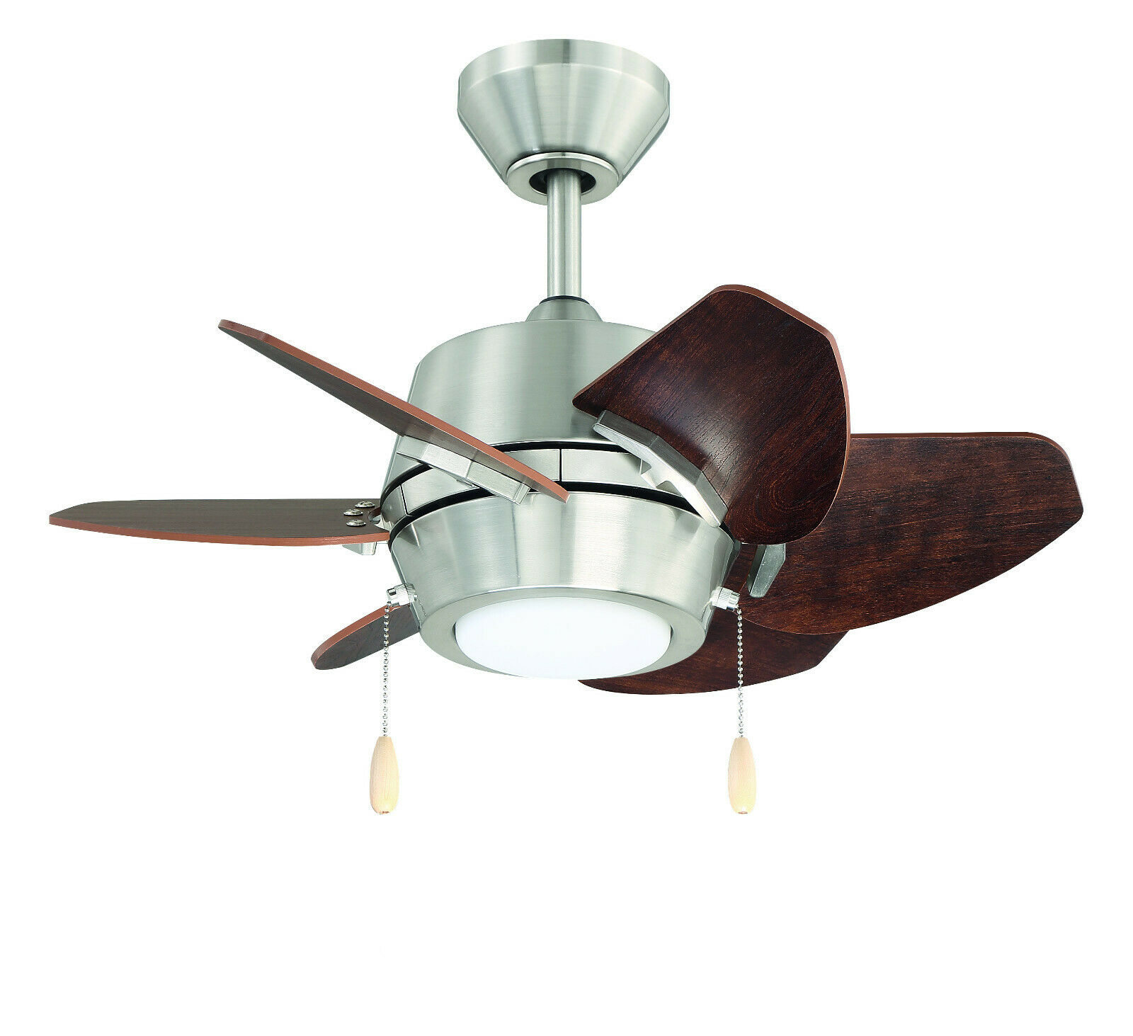 Seasons Torrena 42 Dual Mount Ceiling Fan Brushed Nickel W Led Bowl Light Kit For Sale Online Ebay