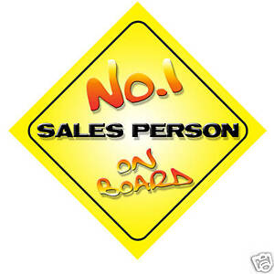No-1-Sales-Person-Novelty-Car-Sign-New-Job-Gift