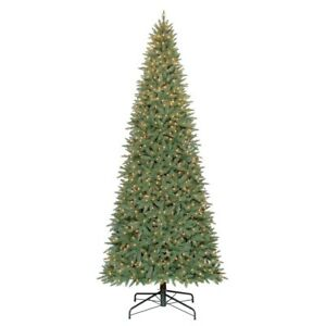 Details zu HOLIDAY TIME PRE-LIT 12\' WILLIAMS PINE ARTIFICIAL CHRISTMAS  TREE, CLEAR *DM