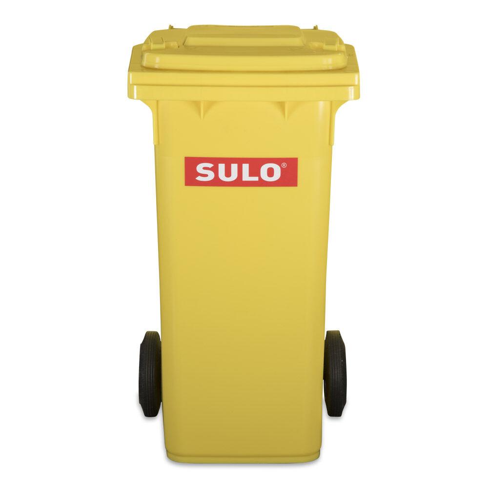 120 L Abfalltonne, Restmülltone, Abfallbehälter, Tonne, Müllbehälter NEU gelb