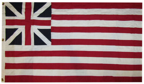 3x5 Embroidered Grand Union 100/% Cotton Flag 3/'x5/' Banner Grommets