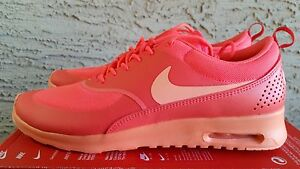 new concept d8a89 39513 Image is loading Nike-Air-Max-Thea-Hot-Lava-Sunset-Glow-