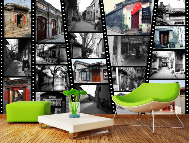 3D Old House Photo 906 Wall Paper Wall Print Decal Wall AJ WALLPAPER CA