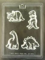 Dinosaurs Assorted Chocolate Candy Mold Party Favor Cake Decoration Birthday