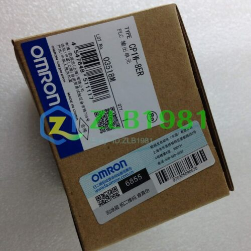 NEW Omron CP1W-8ER 90-Day Warranty h4i