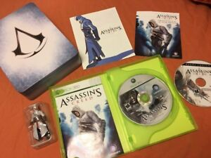 Assassin-039-s-Creed-1-COLLECTOR-S-LIMITED-EDITION-COMPLETE-amp-RARE-XBOX-360