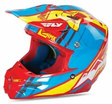 Blue//White//Red X-Large Fly Racing Unisex-Adult Full-face-Helmet-Style F2 Animal